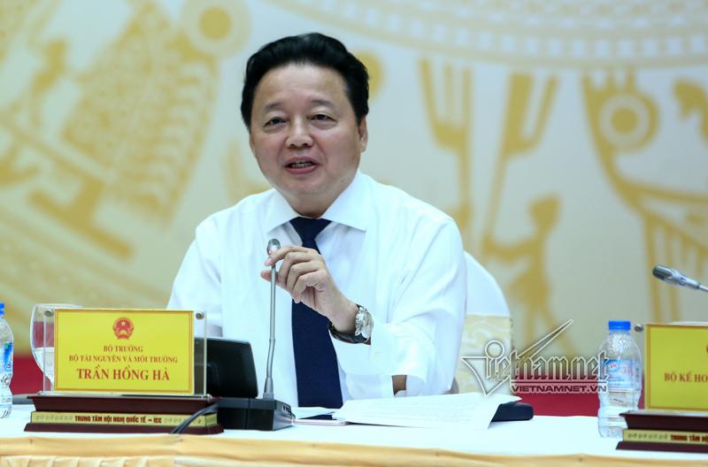 cục phó mất trộm, Nguyễn Xuân Quang, Bộ Tài nguyên Môi trường, Trần Hồng Hà, Tổng cục môi trường