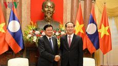 VN ưu tiên cao nhất cho tăng cường quan hệ, hợp tác toàn diện với Lào