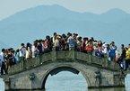 'Biển người' ở các điểm du lịch nổi tiếng Trung Quốc