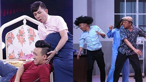Hoài Linh, Chí Tài, Kim Tử Long tát đàn em cháy mặt trên sân khấu