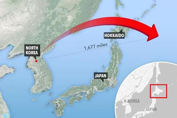 hạt nhân Triều Tiên,tên lửa Triều Tiên,Triều Tiên cảnh báo Nhật