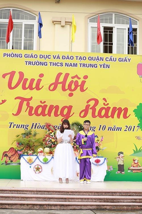 THCS Nam Trung Yên, Trung thu, Vui hội Trăng rằm 2017
