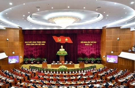 Tổng bí thư Nguyễn Phú Trọng, Nguyễn Phú Trọng, Hội nghị Trung ương 6