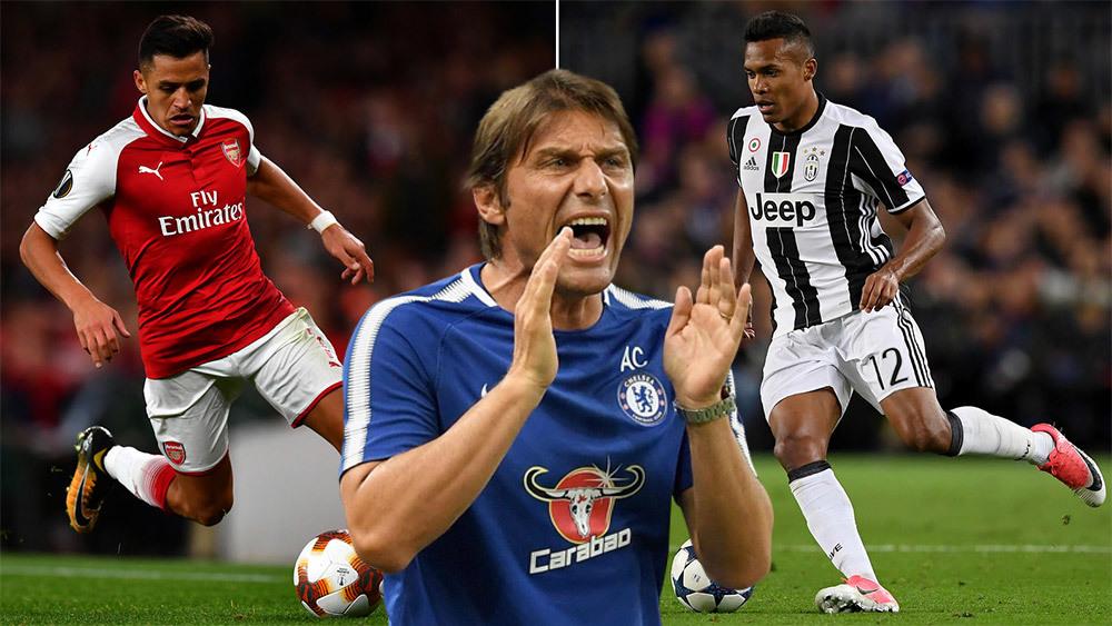 Theo Mirror, chuyển nhượng Chelsea sẽ đưa về Alexis Sanchez và Alex Sandro ở kỳ chuyển nhượng mùa Đông vào tháng 1 tới đây.