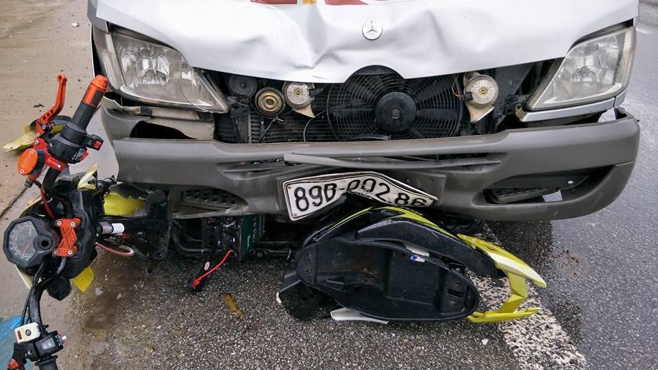 tai nạn, tai nạn giao thông, xe máy điện, xe đạp điện, Hà Tĩnh