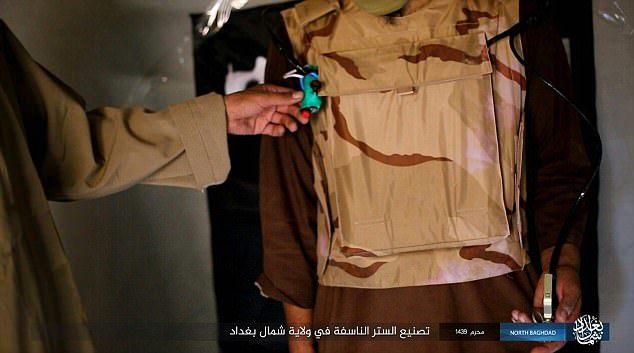 Tổ chức khủng bố IS, áo vest tử thần của IS
