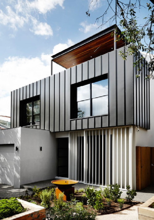 Mẫu thiết kế hoàn hảo cho những người thích tông màu trắng đen