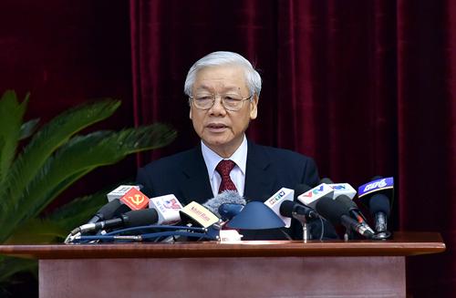 Tổng Bí thư, Nguyễn Phú Trọng, Hội nghị Trung ương 6, Tổ chức bộ máy, chưa giàu đã già