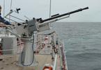 Vùng 5 Hải quân kiểm tra bắn đạn thật trên biển