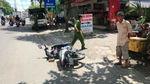 Ném đá chết người trên phố vì va chạm giao thông