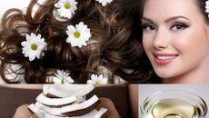 Chăm sóc tóc từ dầu dừa