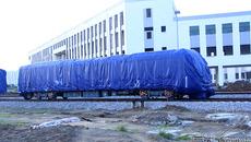Lỡ hẹn chạy thử, phủ bạt 2 đoàn tàu Cát Linh - Hà Đông
