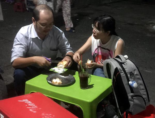 món ngon, món ngon Sài Gòn, món ngon mỗi ngày, Ca cao chấm bánh mỳ