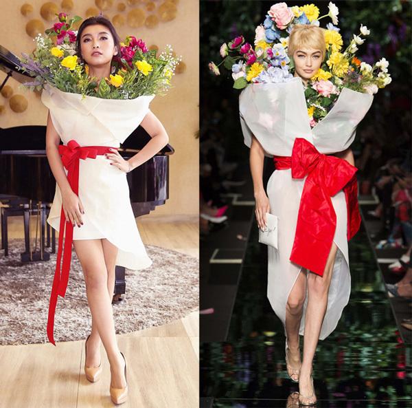 Cháu gái Lam Trường cố tình mặc váy nhái để gây chú ý