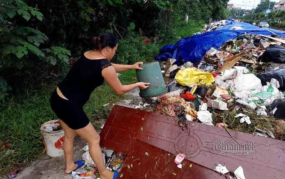 rác thải,môi trường,bãi rác Nam Sơn,Sơn Tây,ô nhiễm môi trường