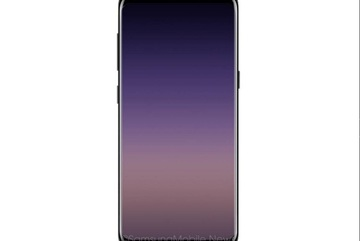 Ảnh đẹp lung linh về màn hình vô cực của Galaxy A 2018