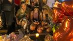 Hình ảnh cầu nguyện cho nạn nhân vụ xả súng Las Vegas