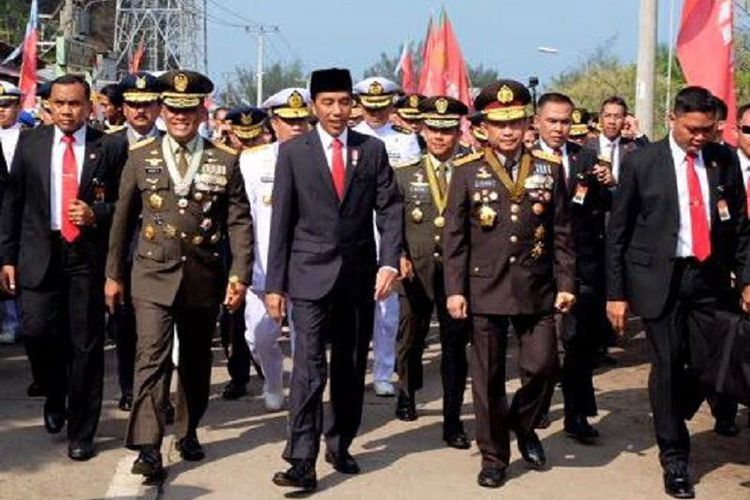 Tổng thống Indonesia, cuốc bộ,tắc đường home city