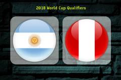 Link xem trực tiếp Argentina vs Peru, 6h30 ngày 6/10