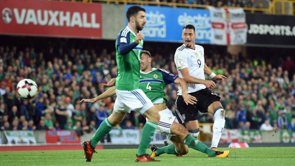 Đức, Bắc Ireland, World Cup 2018