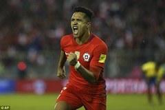 Sanchez bừng sáng giúp Chile mở toang cánh cửa đến Nga