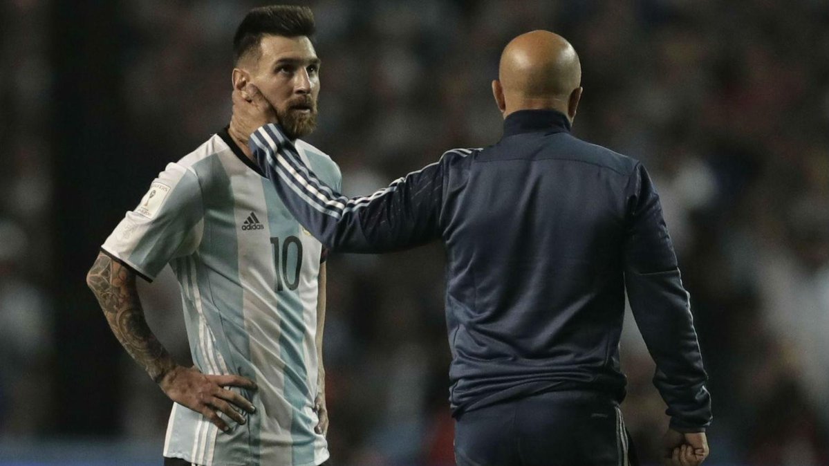 Argentina, Peru, Messi, Lionel Messi, Sampaoli, World Cup 2018, vòng loại World Cup 2018