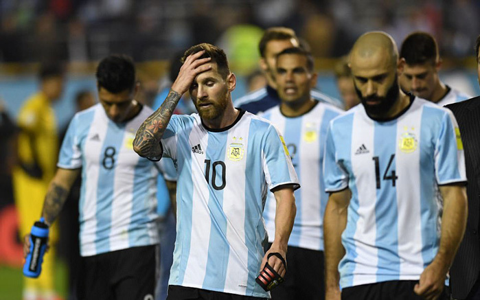 Argentina, Messi, World Cup 2018