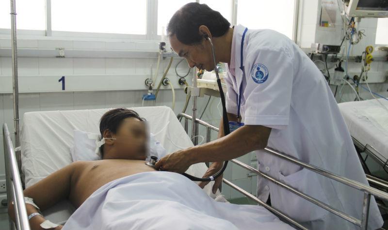 sốt xuất huyết, bệnh sốt xuất huyết, Bệnh viện nhi đồng 1