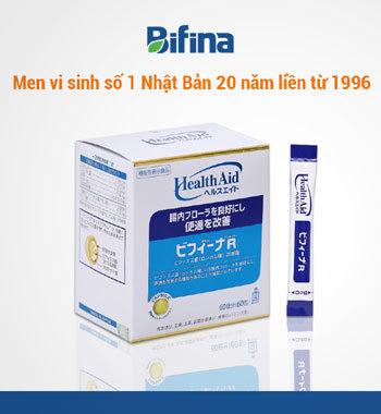 Viêm đại tràng, viêm đại tràng mạn tính, men vi sinh nhật bản, men vi sinh Nhật Bản Bifina, men vi sinh Bifina