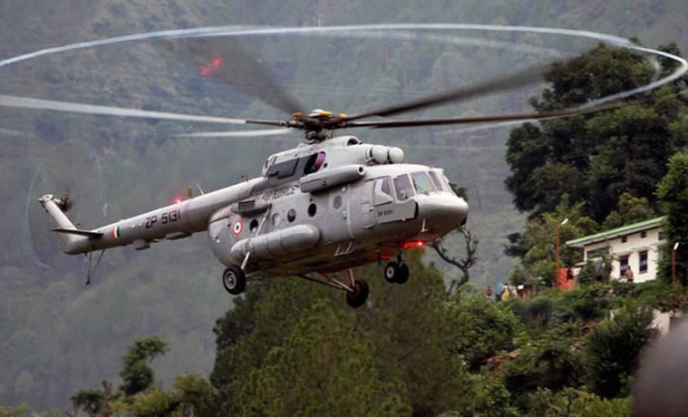 trực thăng, Ấn Độ, không quân,phi công thiệt mạng