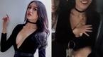 Hoa hậu Thái Lan ngượng ngùng khi bị máy quay chĩa thẳng vào ngực