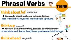 """Tìm hiểu sự biến hóa của động từ """"think"""" trong tiếng Anh"""