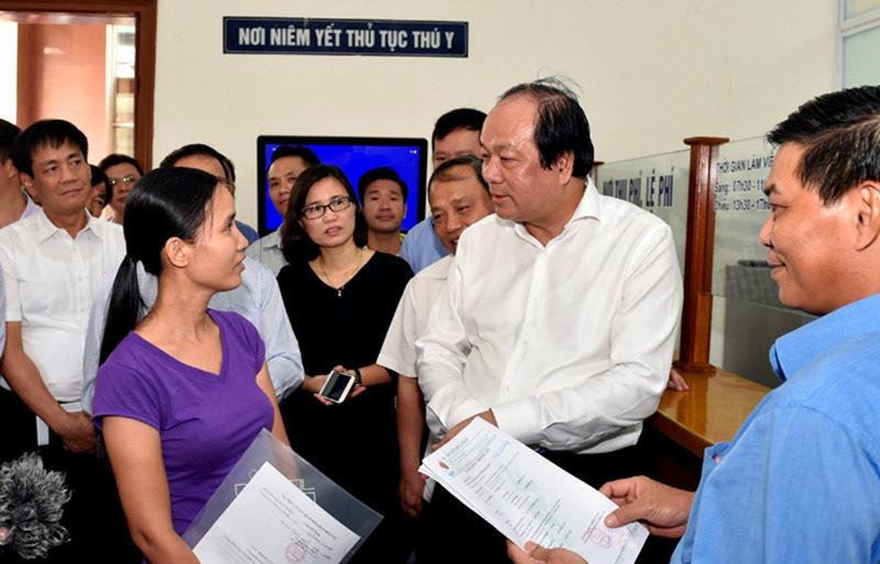 Thủ tướng Nguyễn Xuân Phúc, Nguyễn Xuân Phúc, thủ tục hành chính