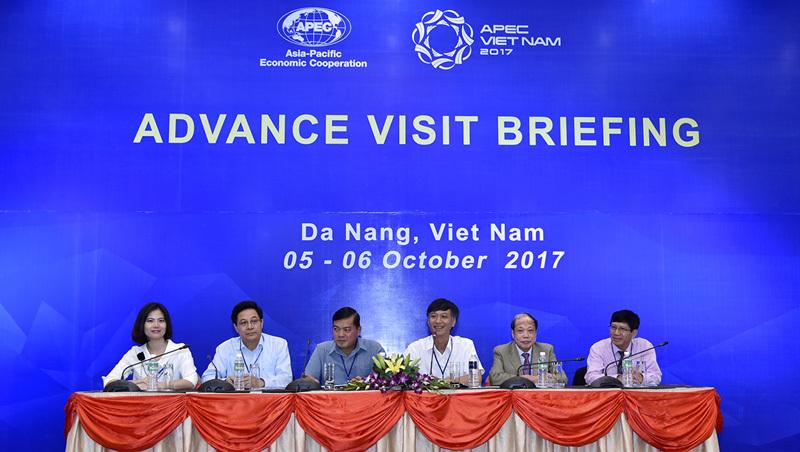 Khảo sát địa điểm tổ chức Tuần lễ cấp cao APEC 2017