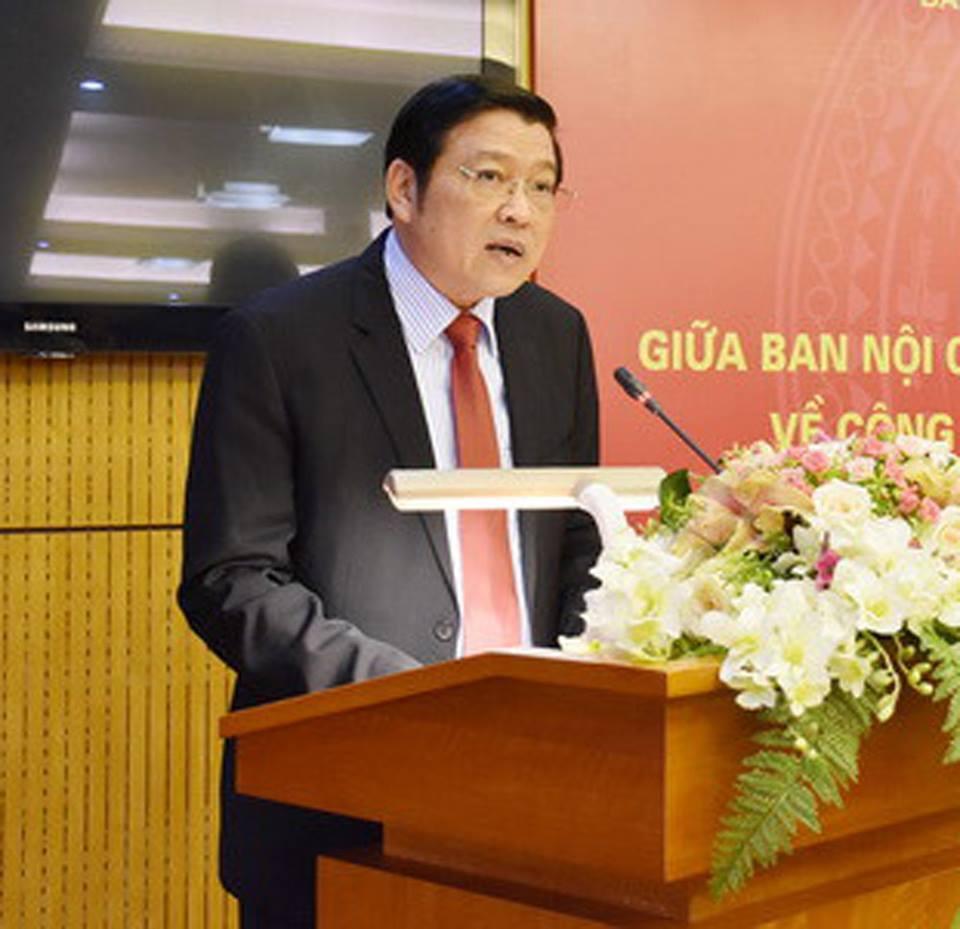 Bầu bổ sung, nhân sự, Ban Bí thư, Phan Đình Trạc, Nguyễn Xuân Thắng