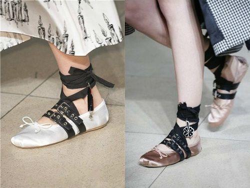 Xu hướng giày nữ thu đông 2017-2018