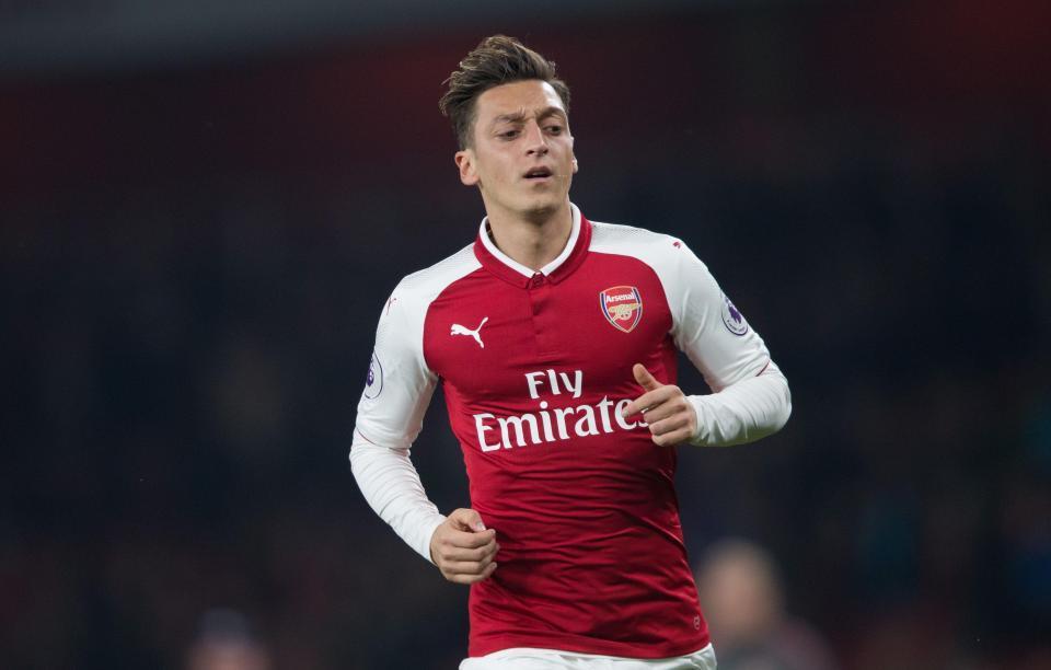 Arsenal, Ozil, Welbeck