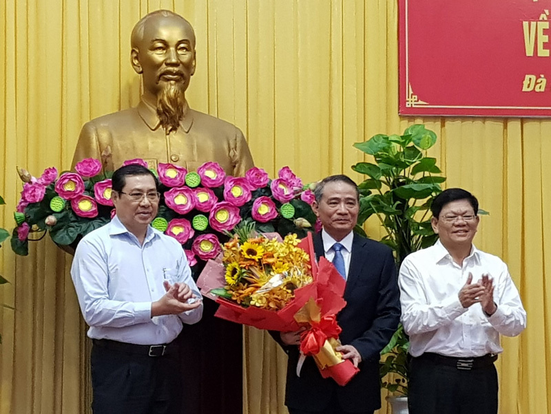 Bí thư Trương Quang Nghĩa, Trương Quang Nghĩa, Bí thư Đà Nẵng, Đà Nẵng, Nguyễn Xuân Anh