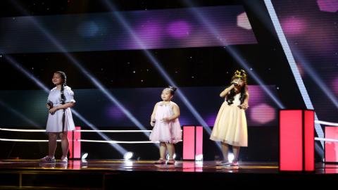 Tiết mục cảm động của ba thành viên đội Hương Tràm - Tiên Cookie