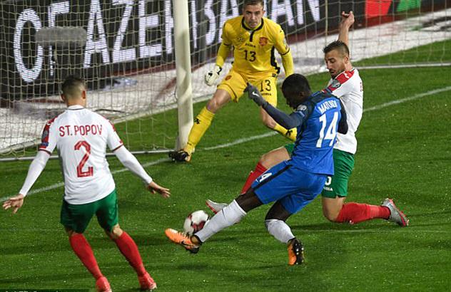 Hạ Bulgaria, Pháp mở toang cửa dự VCK World Cup 2018