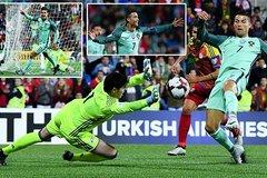 Ronaldo lập công, Bồ Đào Nha chờ tử chiến với Thụy Sỹ