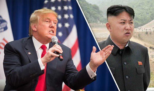 Tình hình Triều Tiên, Kim Jong Un, Donald Trump