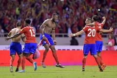 Costa Rica vỡ òa niềm vui khi đoạt vé World Cup 2018