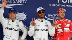 Phân hạng F1 Nhật Bản: Hamilton thể hiện sức mạnh áp đảo