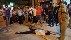 Tài xế đập ô tô, 'nằm vạ' khi bị ông Đoàn Ngọc Hải xử lý vi phạm