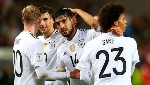 Đức 5-1 Azerbaijan