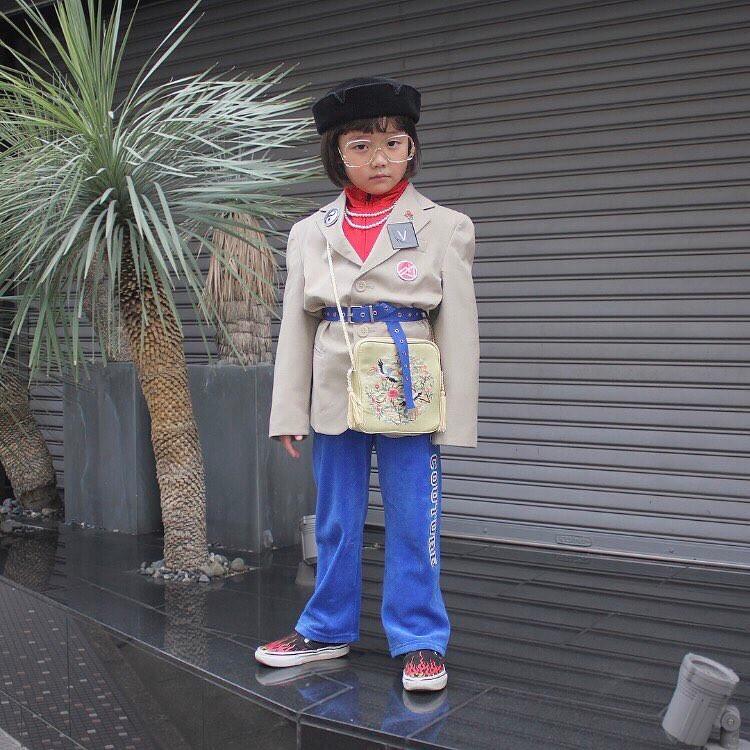 ngôi sao thời trang, Nhật Bản, tài năng nhí,