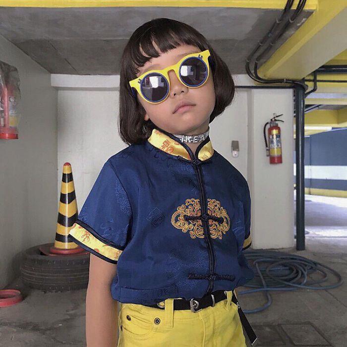 Cô bé trở thành ngôi sao thời trang tại Nhật Bản khi mới 6 tuổi
