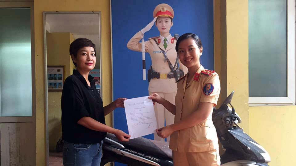 Cảnh sát giao thông, CSGT, Hà Nội, mất xe máy