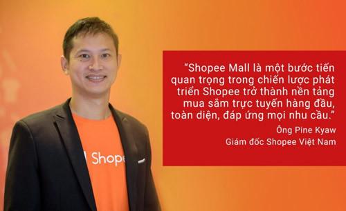 Shopee ra mắt không gian mua sắm hàng chính hãng